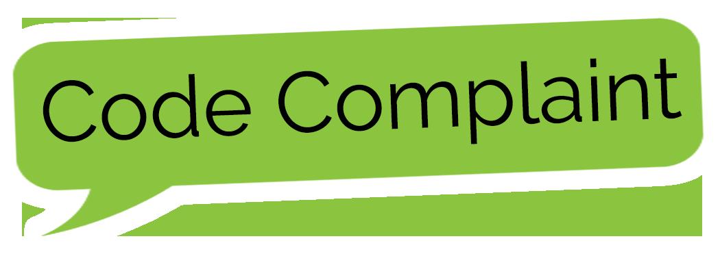 Code Complaint