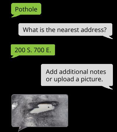Report pothole