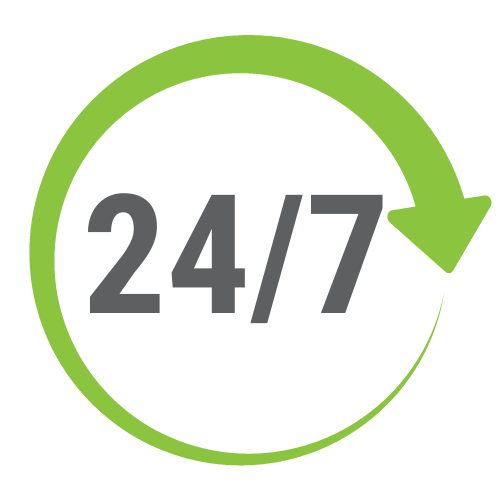 24/7 automated SMS assistance